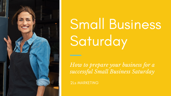preparing for small business saturday